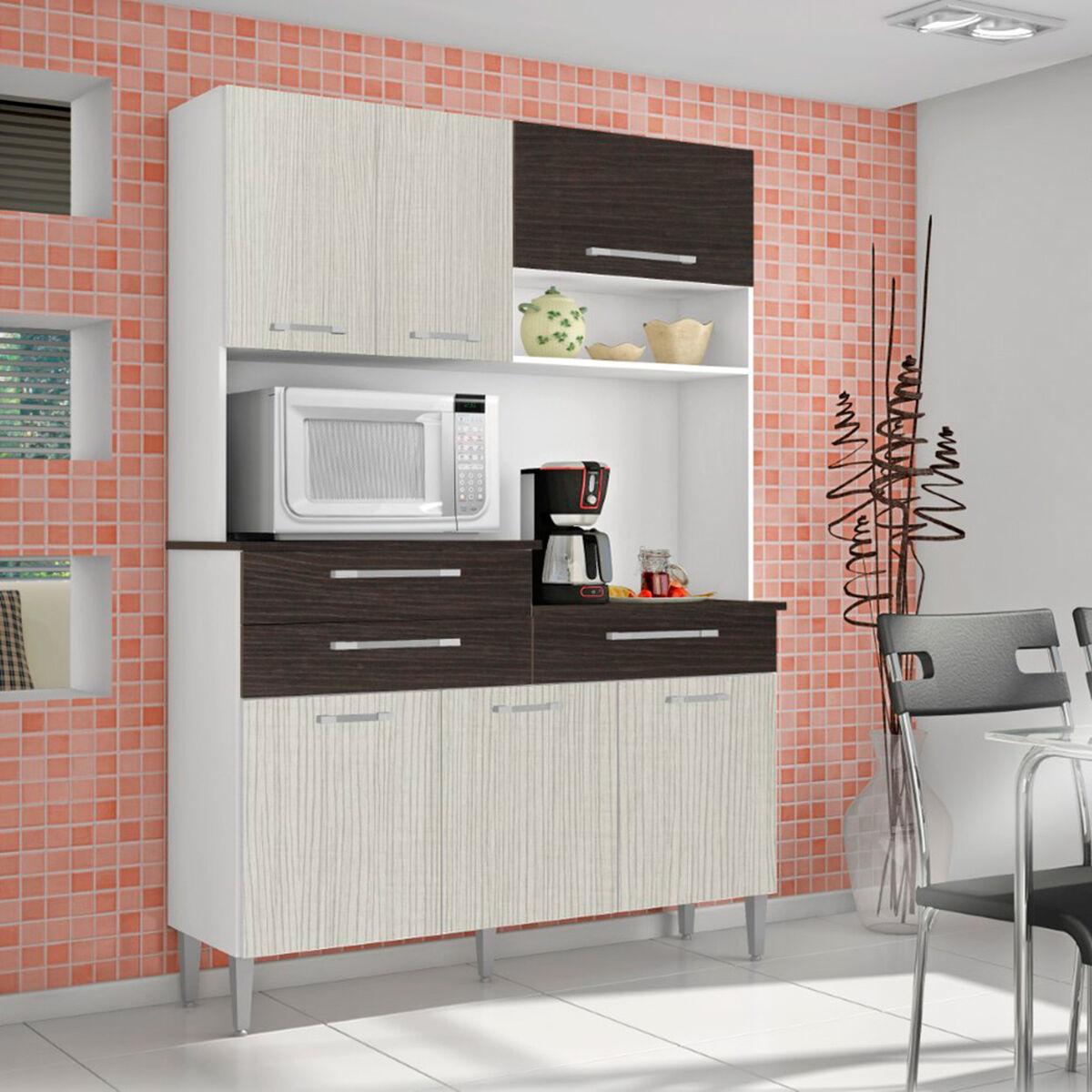 Mueble de cocina Roch 6 puertas 3 cajones M-1008T