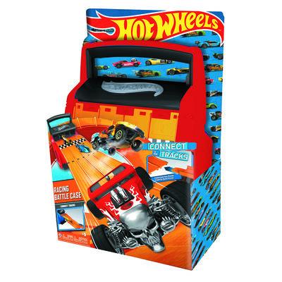 Caja Porta y Lanza Autitos Hot Wheels