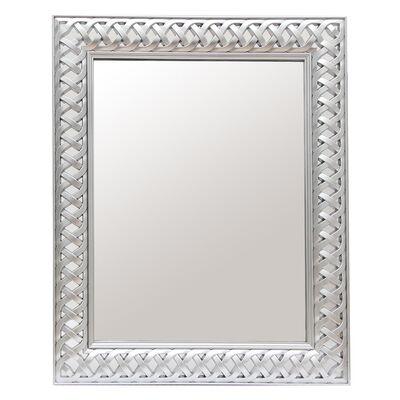 Espejo Vgo Tramado Silver 49X59X3.5 Cm Silver
