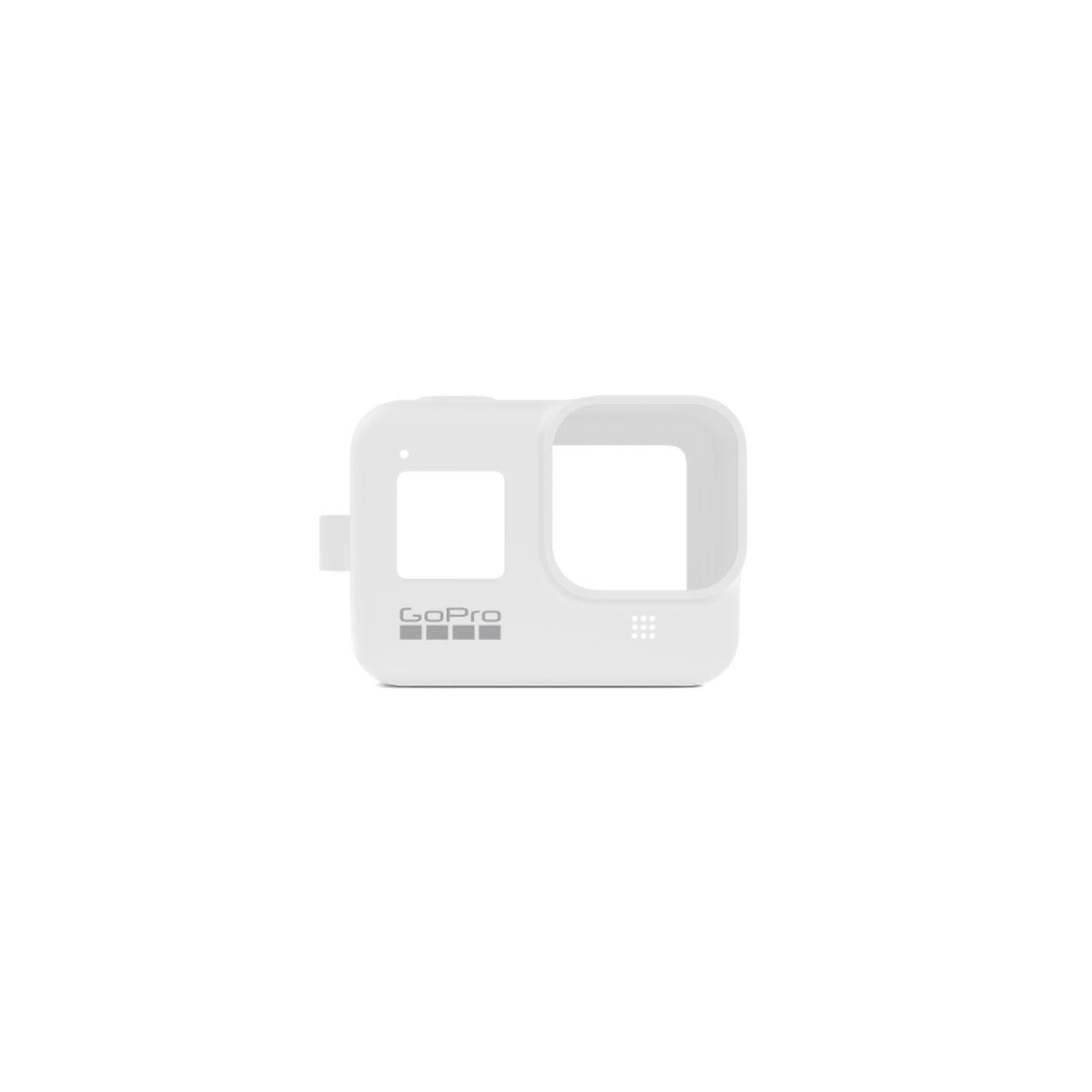 Funda de Silicona + Cordón Blanco para GoPro HERO8