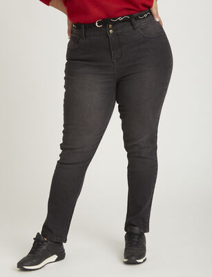Jeans Recto Mujer Extralindas