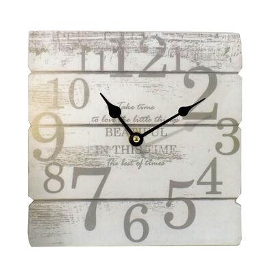 Reloj De Pared Madera