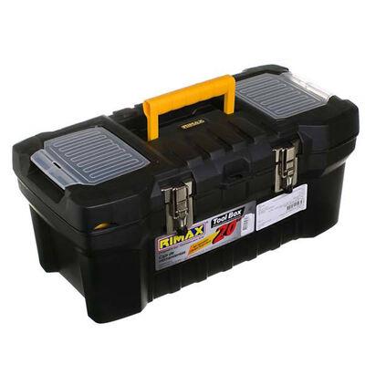 """Caja de Herramientas 20"""" Rimax RX5234 Con Seguro Metálico"""