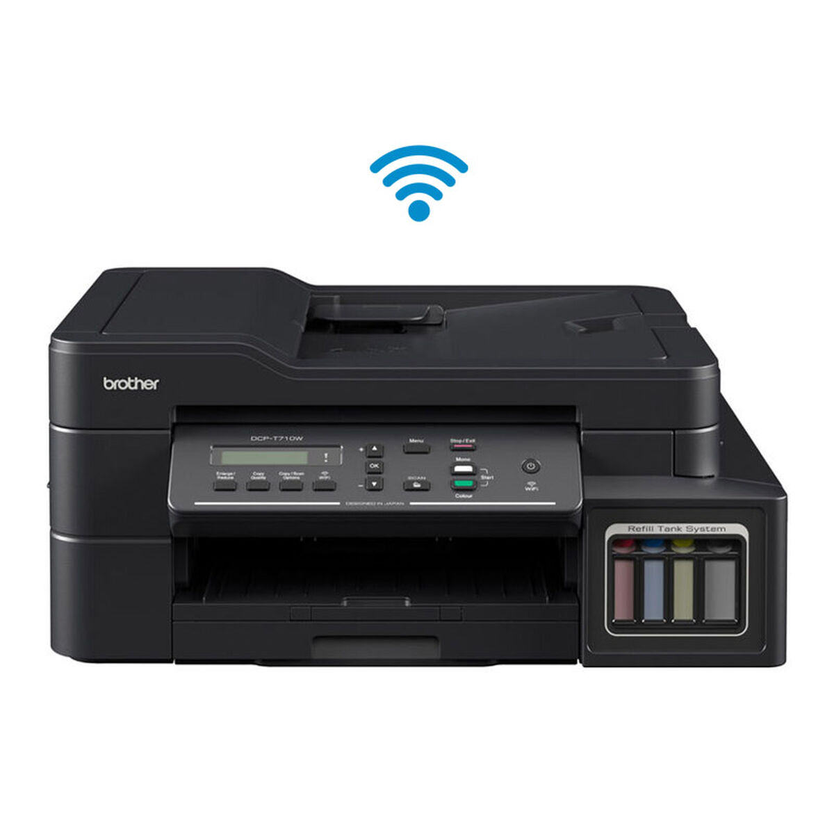Multifuncional Brother Tinta Continua DCP-710 WiFi