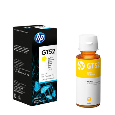 Tinta Original HP M0HAL GT52 Yellow