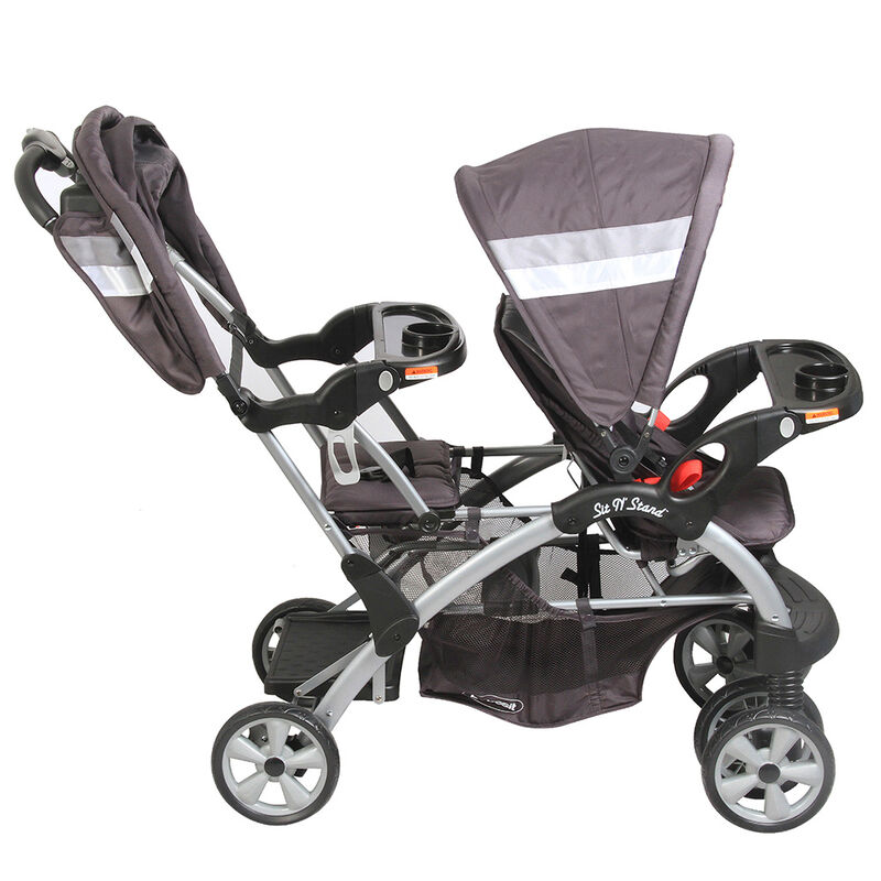 Coche de Paseo Doble Bebesit 8096 Sit And Stand