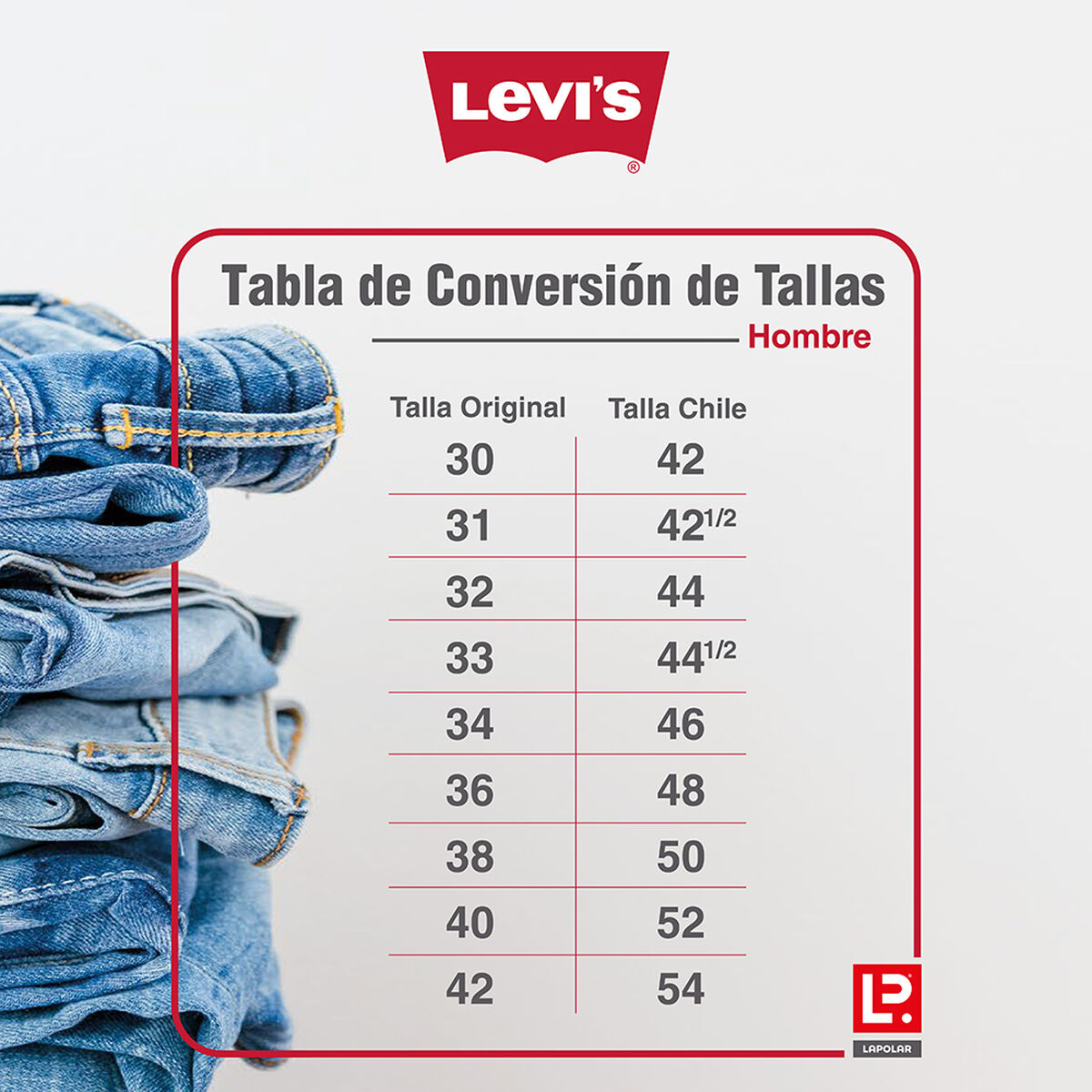 Jeans Hombre Levis
