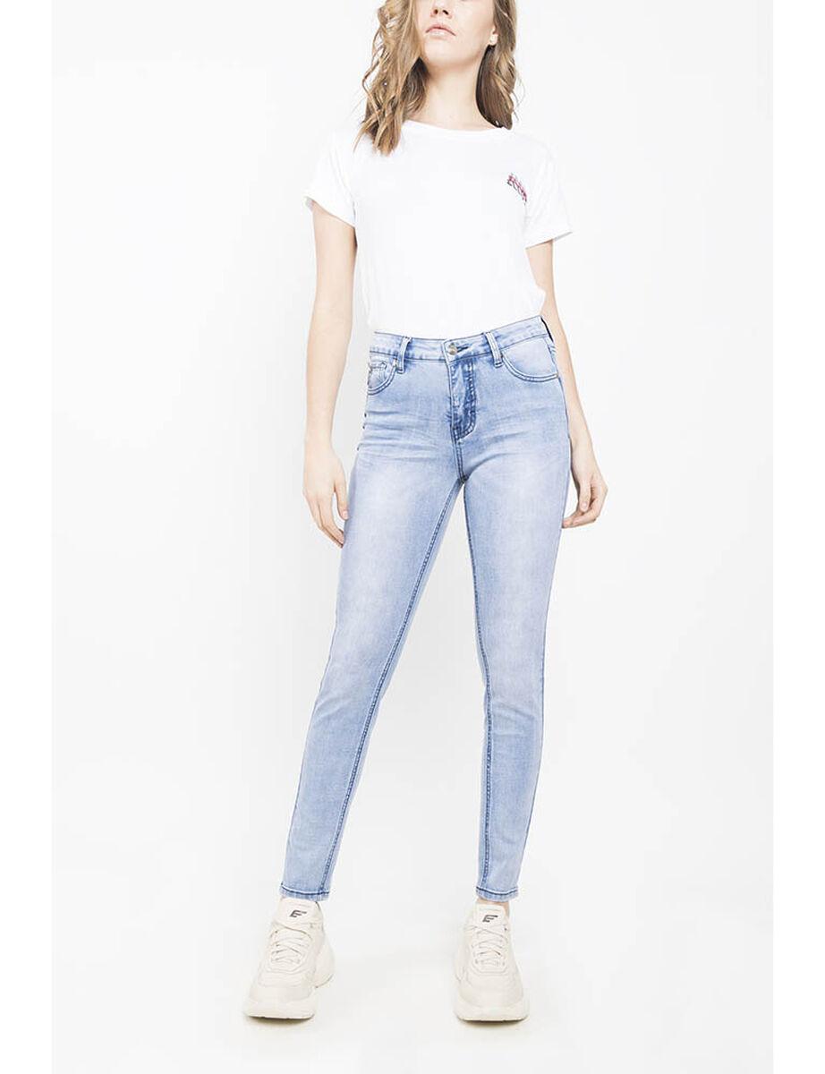 Jeans Tiro Medio Mujer Ellus
