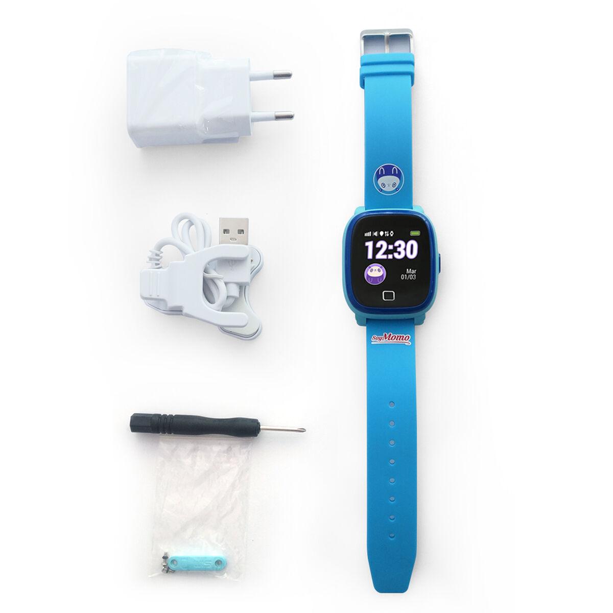 Smartwatch SoyMomo para niños Azul con GPS