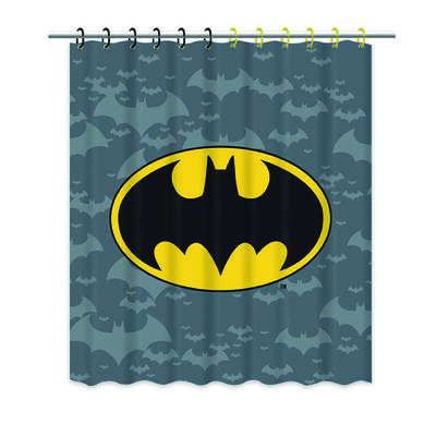 Cortina de Baño Batman Logo