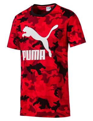 Polera Hombre Puma Classics Graphics Tee AOP