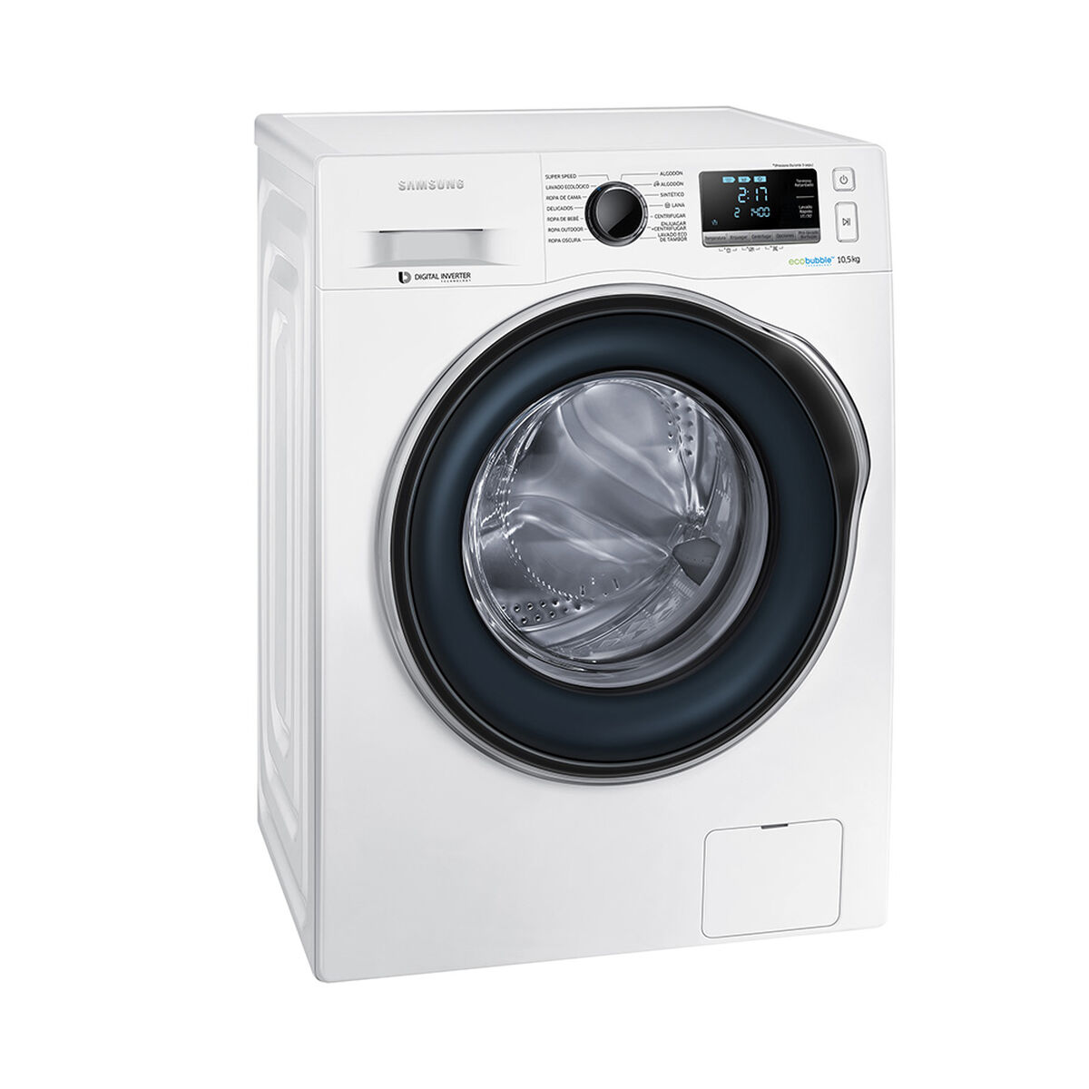 Lavadora Automática Samsung WW10J6410CW1 10,5 kg.