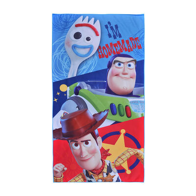 Toalla de Playa Suede Disney-Toy Story 4 New 70X140 Cm
