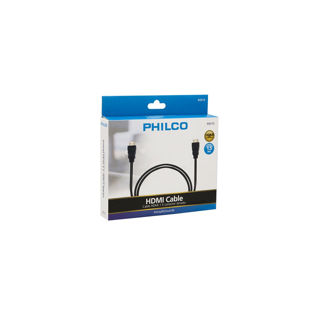 Cable HDMI Philco 31HDM44315 Gold 1,5 mts.