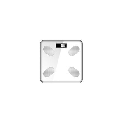 Pesa Digital Inteligente Levo Bluetooth Blanca