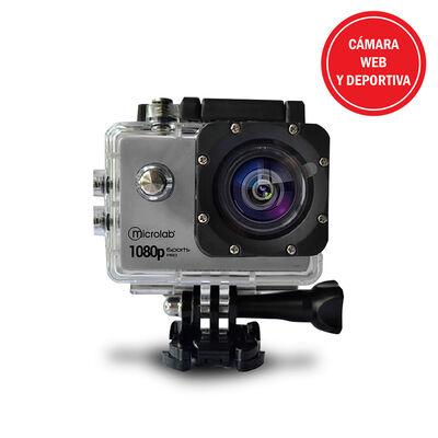 Camara Web y Deportiva Waterproof Microlab Isports Pro A7 Xtreme