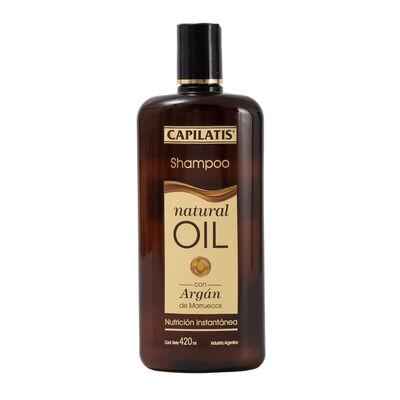 Shampoo Capilatis Natural Oil 420 ml