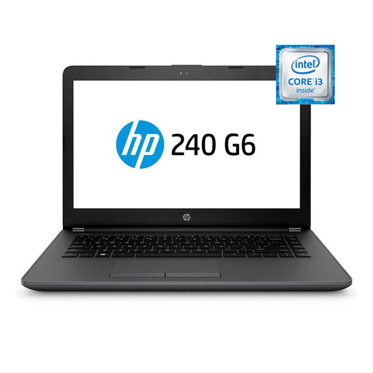 """Notebook HP 240 G6 Core i3-6006U 4GB 1TB 14"""""""