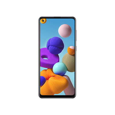 "Celular Samsung Galaxy A21S 128GB 6,5"" Negro Liberado"