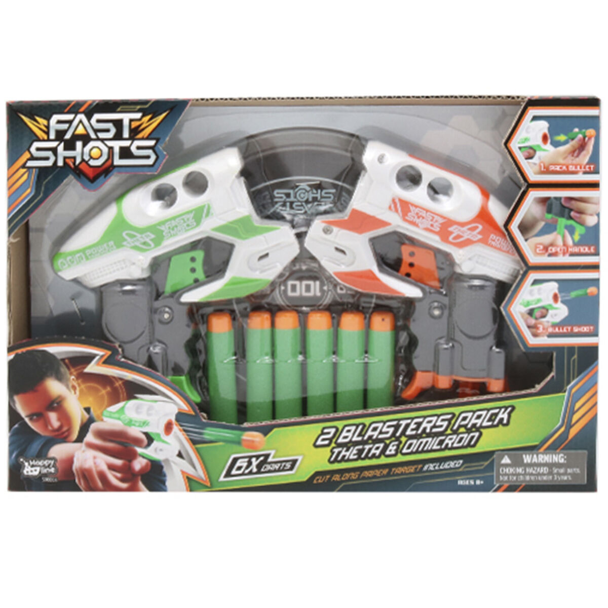 Fast Shots 2 Lanzadores Happy Line