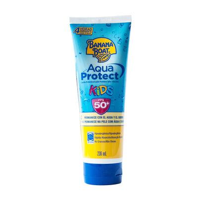 Protector Solar Banana Boat Aqua Protect KIDS FPS 50+ 236 ml