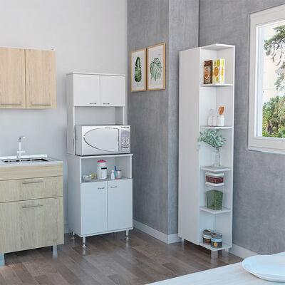 Combo Kitchen 4 Mueble Microondas + Optimizador