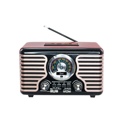 Radio Portátil Microlab Antique 1930's 8732