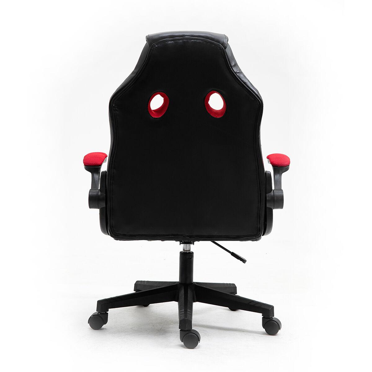 Silla Gamer Lvl Up LU778 Medium Rojo Negro