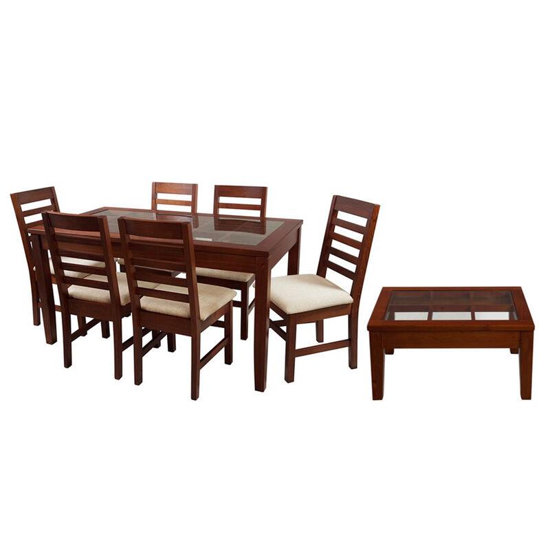 Set Comedor 6 Sillas + Mesa de Centro
