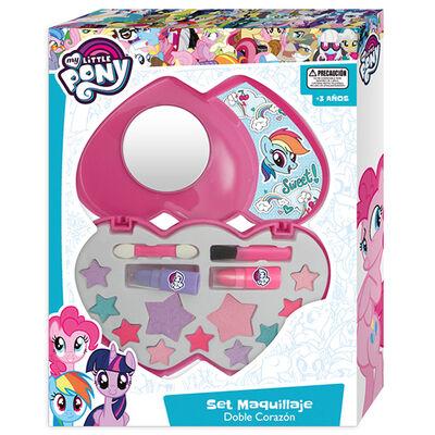 Set Maquillaje Doble Corazon My Little Pony Hasbro