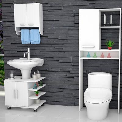 Mueble Lavamanos + Gabinete + Mueble Optimizador TuHome