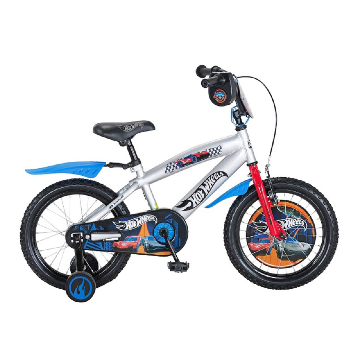 Bicicleta Hotwheels Niño 16