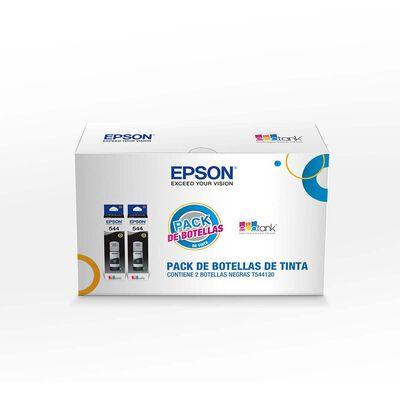 Pack Tintas Botellas Epson T544 X2 Negro
