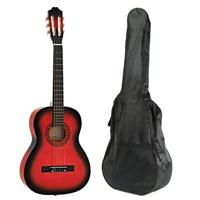Guitarra Clásica Niño Alaguez AZ-G30RB + Bolso