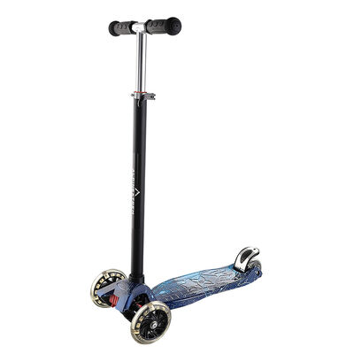 Scooter Infantil Plegable con Luces Azul Alpinextrem