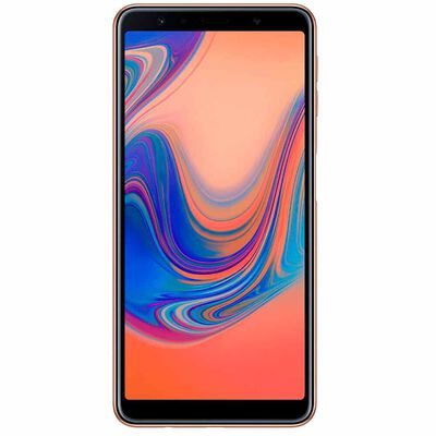 """Celular Samsung A7 Dorado 6,0"""" Liberado"""
