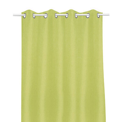 Cortina Blackout Mate Argolla 1 Pieza Green 140X220 Cm