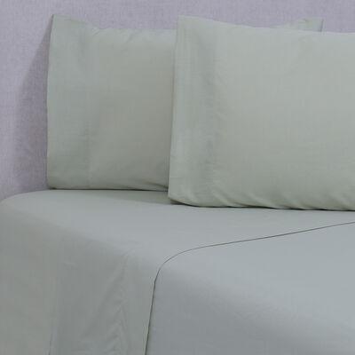 Sábana Sohome by Fabrics 180 Hilos King Liso Verde