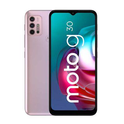 """Celular Motorola Moto G30 128GB 6,5"""" Lila Pastel Liberado"""