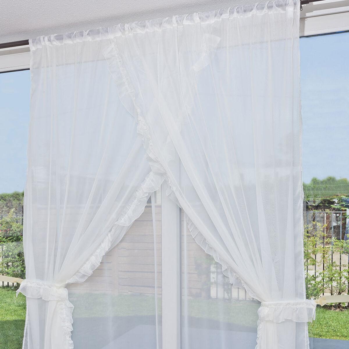 Velo Romantico 3 Paños Blanco 200 X 220 Cm