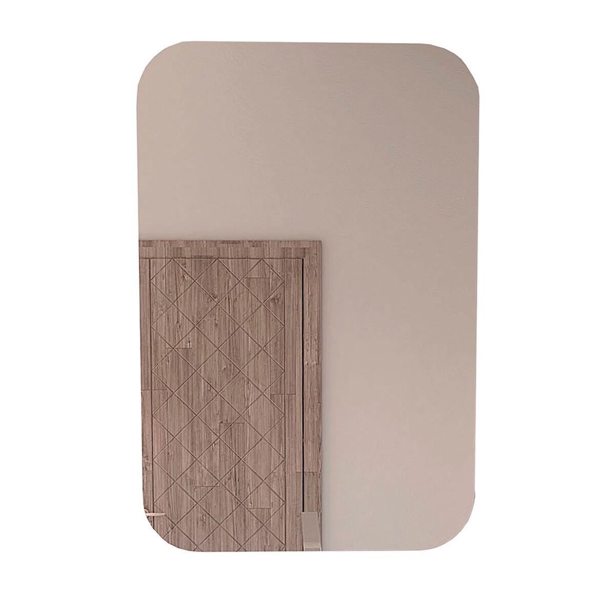 Espejo Pompei Sencillo Con Esquinas Ovaladas