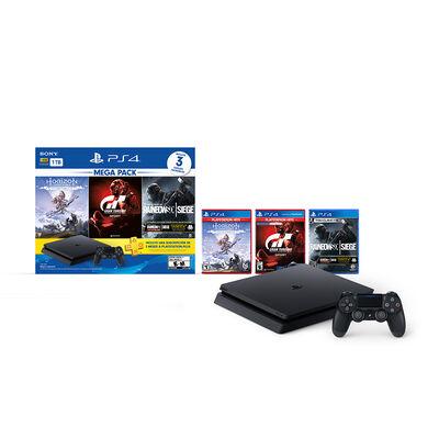 Consola Sony PS4 MegaPack 16 + 3 Juegos PS4