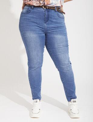 Jeans Skinny Mujer Extralindas