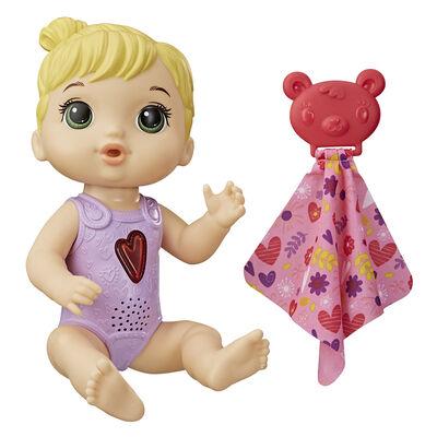 Muñeca Bebé Corazón Feliz con Sonidos