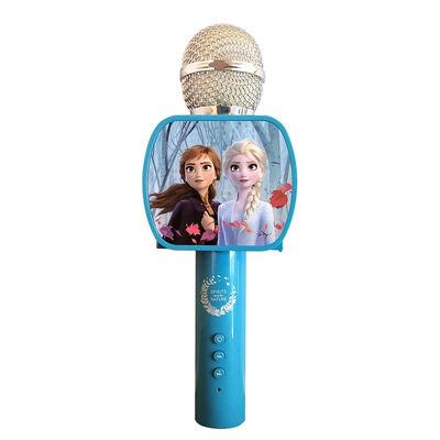 Micrófono Bluetooth para Karaoke Frozen Disney