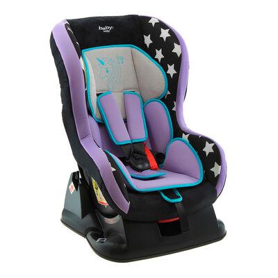 Silla de Auto Butaca Baby Way Unicornio Bw-743M19