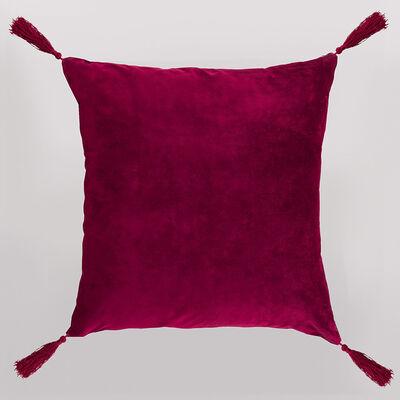 Cojín Velvet con Tassels Casanova 45 x 45 cm