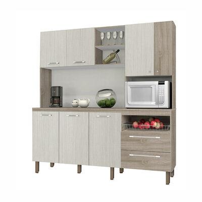 Mueble Organizador De Cocina Jade 7 Cajones