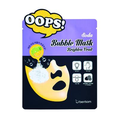 Mascarilla Facial Detox Soda Bubble Mask - Brighten Fruit (X1 Un) Berrisom