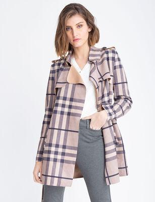 Trench Coat Mujer Zibel Suede